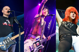 Billy Corgan, Joan Jett and Hayley Williams